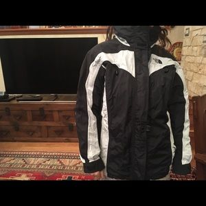 North face jacket size 10